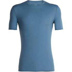Icebreaker M's Anatomica SS Crewe Shirt Granite Blue